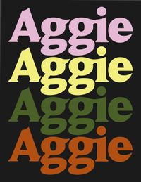 Aggie movie poster