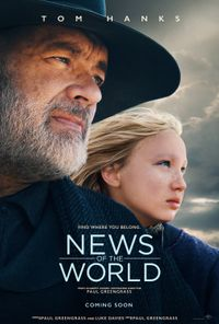 News of The World (2020) movie poster